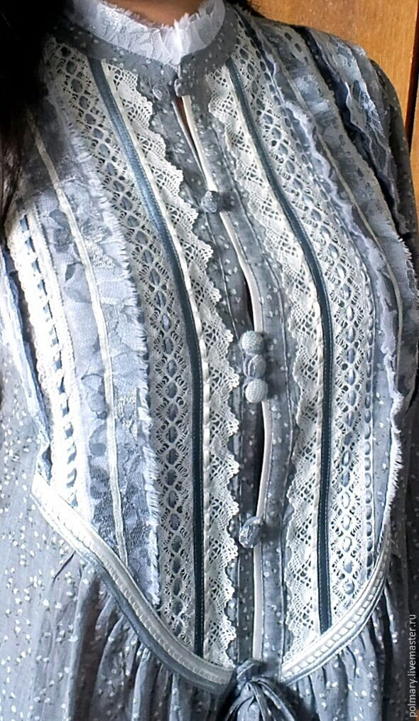 Boho tunic '50 shades of grey', Blouses, Tashkent, Фото №1