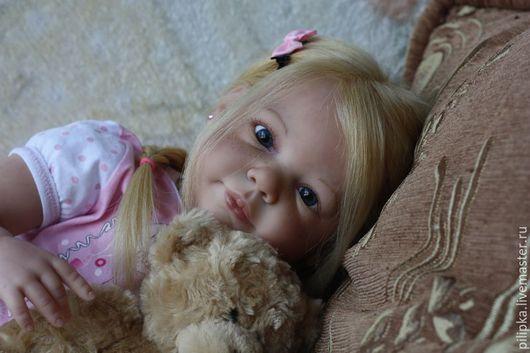 Куклы-младенцы и reborn ручной работы. Ярмарка Мастеров - ручная работа. Купить Кукла реборн Дашенька. Handmade. Розовый, винил