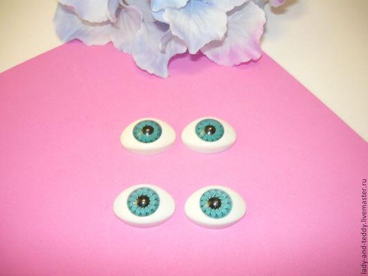 Куклы и игрушки ручной работы. Ярмарка Мастеров - ручная работа. Купить Глаза для кукол 15х20 мм рыбки. Handmade. Глаза