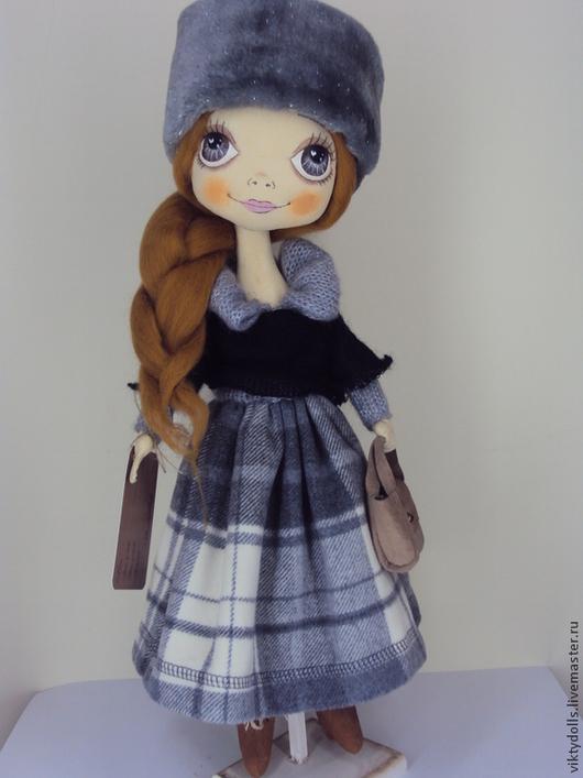 Коллекционные куклы ручной работы. Ярмарка Мастеров - ручная работа. Купить текстильная кукла ручной работы. Handmade. кукла текстильная