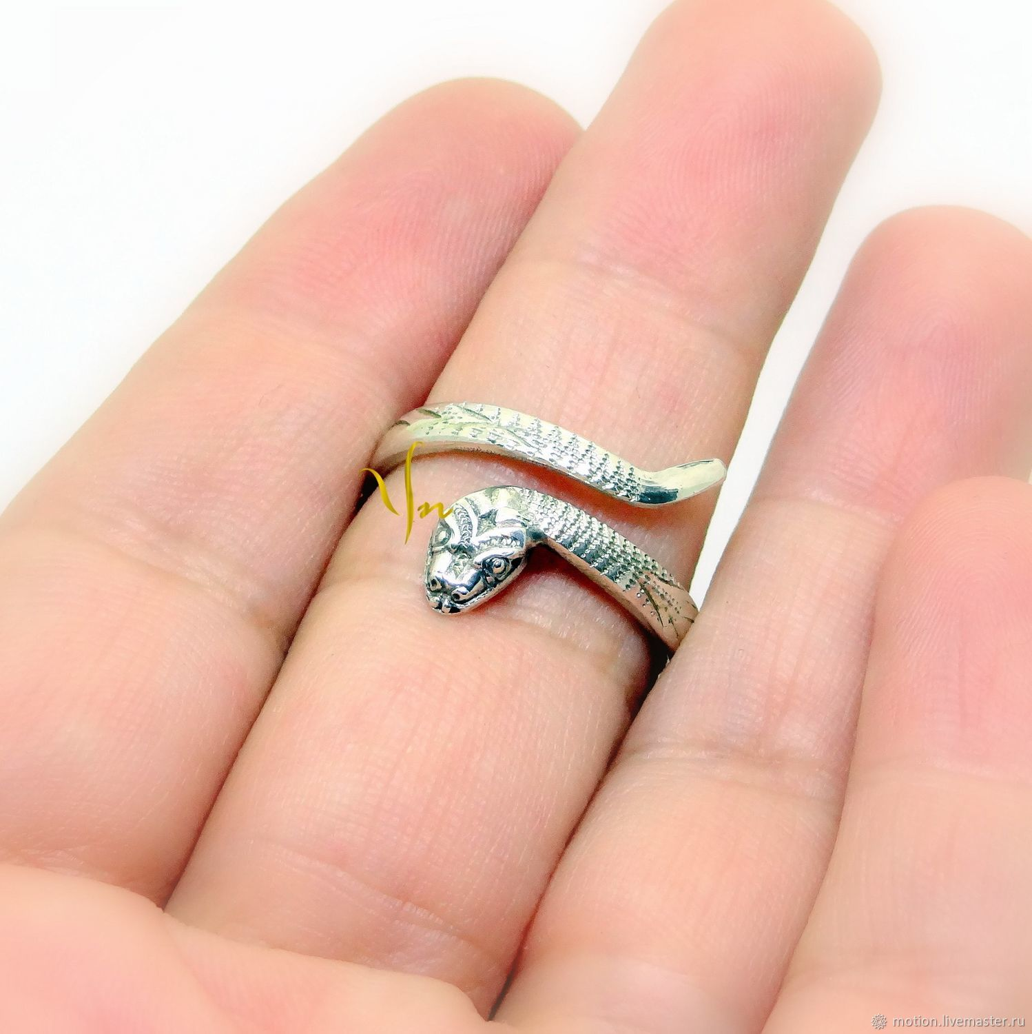 Copy of Snake Ring Sterling Silver Ring Serpent Ring, Rings, Yerevan,  Фото №1