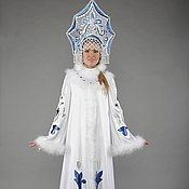 """Одежда ручной работы. Ярмарка Мастеров - ручная работа Костюм Снегурочки """"Волшебная"""". Handmade."""