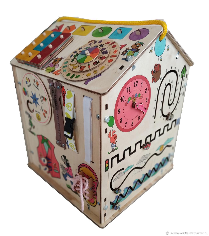 Бизиборд, Развивающий куб, Бизидом, Бизиборды, Ангарск,  Фото №1