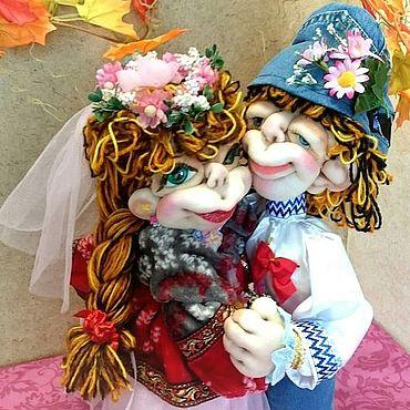 Сувениры и подарки ручной работы. Ярмарка Мастеров - ручная работа Жених и невеста - на свадьбу или юбилей свадьбы. Handmade.