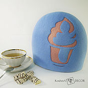 Посуда handmade. Livemaster - original item The tea cosy is a useful accessory for the kitchen. Handmade.