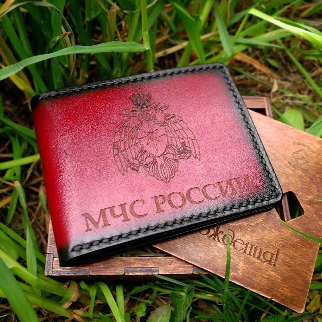 Кожаная обложка на удостоверение, Обложки, Северск, Фото №1