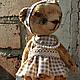 Мишки Тедди ручной работы. Ярмарка Мастеров - ручная работа. Купить Мишка Молли (Тедди). Handmade. Бежевый