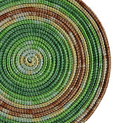 Украшения ручной работы. Ярмарка Мастеров - ручная работа Колье из шнуров Lasso Green apple шарф бусы трансформер. Handmade.