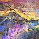 """Пейзаж ручной работы. Заказать """"Приют Отшельника"""" авторская картина маслом на холсте. ЯРКИЕ КАРТИНЫ Наталии Ширяевой. Ярмарка Мастеров."""
