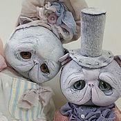 Куклы и игрушки ручной работы. Ярмарка Мастеров - ручная работа Котики. Handmade.