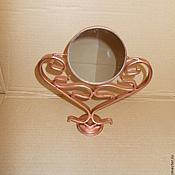 Для дома и интерьера ручной работы. Ярмарка Мастеров - ручная работа настольное зеркало (сердце). Handmade.
