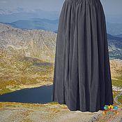 """Одежда ручной работы. Ярмарка Мастеров - ручная работа юбка из штапеля """"Эхо"""". Handmade."""