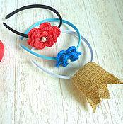 handmade. Livemaster - original item Bezel for girls. Handmade.