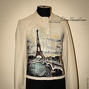 """Одежда ручной работы. Ярмарка Мастеров - ручная работа Куртка """"Париж"""". Handmade."""