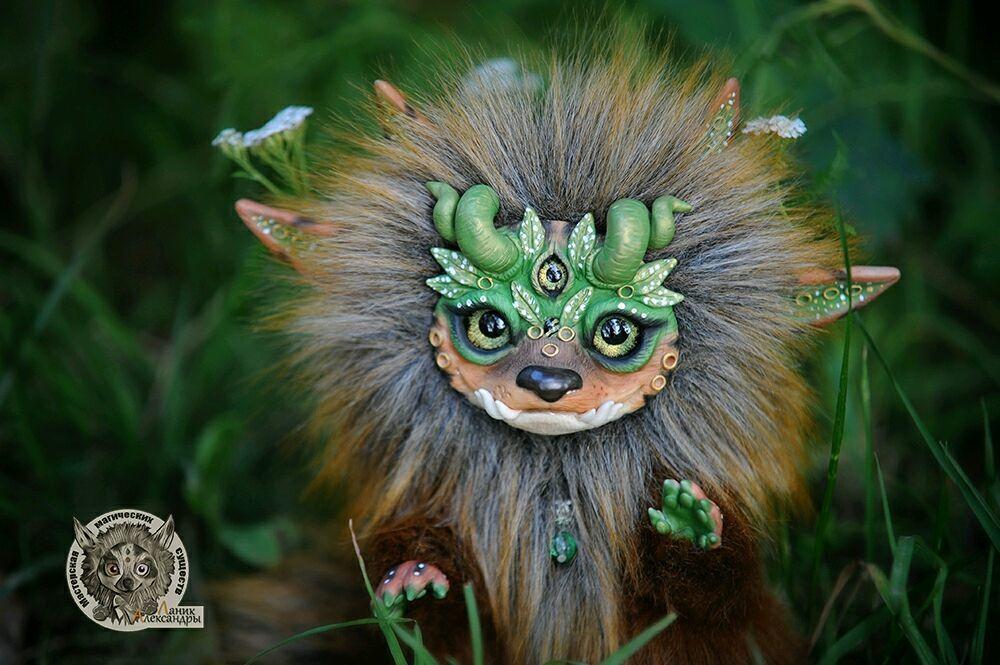 Deep Forest Guardian (Wolfy), Мягкие игрушки, Москва,  Фото №1