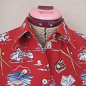 """Одежда ручной работы. Ярмарка Мастеров - ручная работа Блузка """" Американский футбол"""". Handmade."""