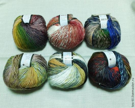 Вязание ручной работы. Ярмарка Мастеров - ручная работа. Купить Пряжа Harmony. Handmade. Комбинированный, пряжа для вязания крючком