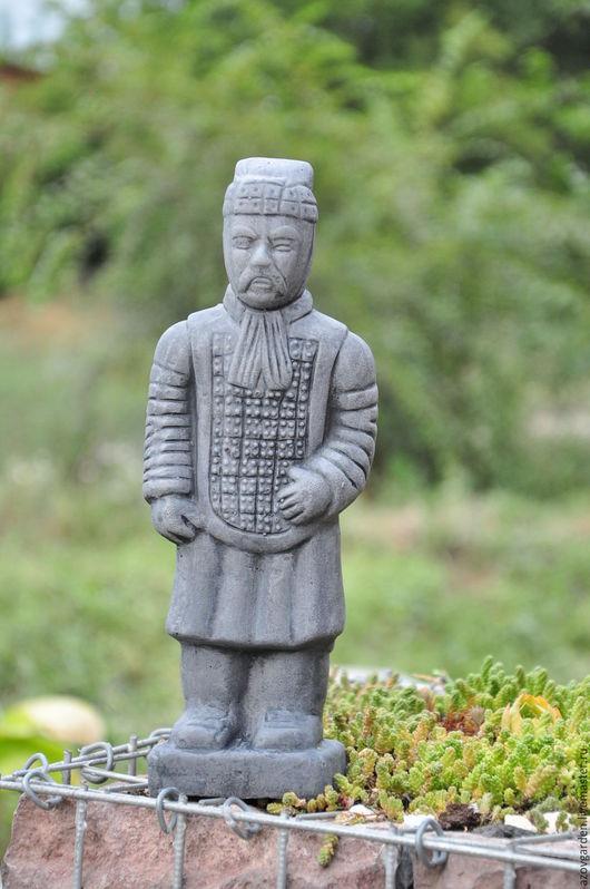 Статуэтки ручной работы. Ярмарка Мастеров - ручная работа. Купить Статуэтка Китайский Воин Терракотовая армия подарок мужчине 23 февраля. Handmade.