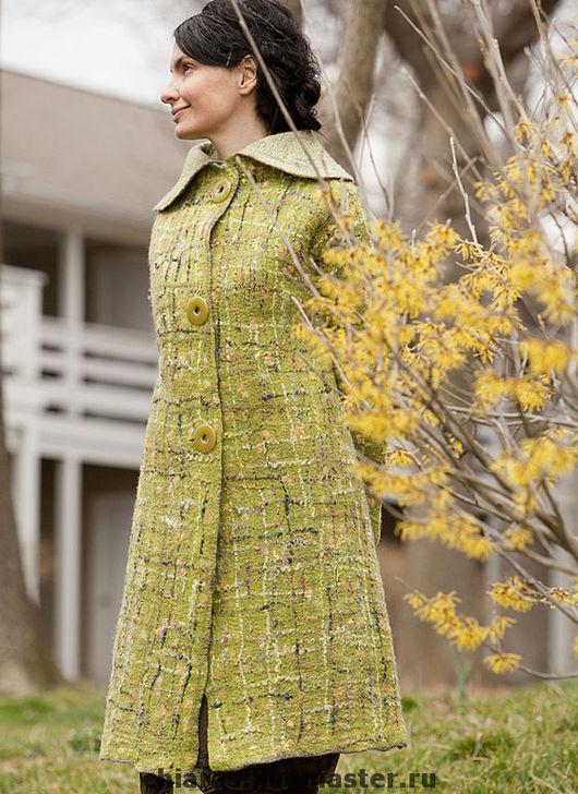 Верхняя одежда ручной работы. Ярмарка Мастеров - ручная работа. Купить Эксклюзивное весеннее пальто Coco Spring-. Handmade.