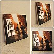"""Картины и панно ручной работы. Ярмарка Мастеров - ручная работа Картинка """"The Last of us"""". Handmade."""