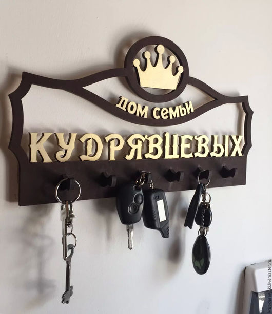 Прихожая ручной работы. Ярмарка Мастеров - ручная работа. Купить фамильные ключницы из дерева.ключница ручной работы.. Handmade. Подарок
