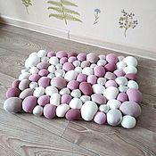 Для дома и интерьера handmade. Livemaster - original item Massage Mat textile Funny balls. Handmade.