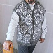 Одежда ручной работы. Ярмарка Мастеров - ручная работа Жилет с капюшоном. Handmade.