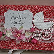 """Подарки к праздникам ручной работы. Ярмарка Мастеров - ручная работа """"Мамины сокровища"""" для девочки. Handmade."""