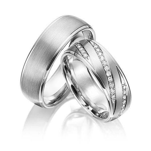 Свадебные украшения ручной работы. Ярмарка Мастеров - ручная работа. Купить Обручальные кольца Alfredo 63-105 NEW. Handmade.