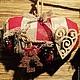 """Новый год 2017 ручной работы. Интерьерная подушка """"Рождественские олени"""". Дизайн-мастерская EcoShiningHome (eco2014). Интернет-магазин Ярмарка Мастеров."""