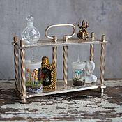 Для дома и интерьера ручной работы. Ярмарка Мастеров - ручная работа Мини-подставка для миниатюры из старых часов. Handmade.
