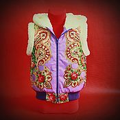 Одежда ручной работы. Ярмарка Мастеров - ручная работа Детская Жилетка. Handmade.