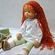Вальдорфская игрушка ручной работы. Маленькая Принцесса, 38 см. svetlana. Ярмарка Мастеров. Детская кукла, кукла текстильная
