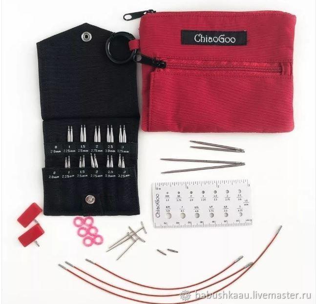 ChiaoGooTwist Mini 7230 М Set 5 и 8см: 2мм-3,25мм.(доставка бесплатно), Инструменты для вязания, Санкт-Петербург,  Фото №1