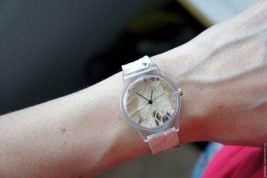 "Часы ручной работы. Ярмарка Мастеров - ручная работа. Купить Часы ""Крем-брюле"". Handmade. Часы, часы на ремне"