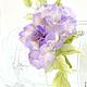 """Броши ручной работы. Заказать Роза """"Profumo di lilla"""". Натуральный шелк.. 'Poli-Flower'   (Надежда). Ярмарка Мастеров. подарок"""