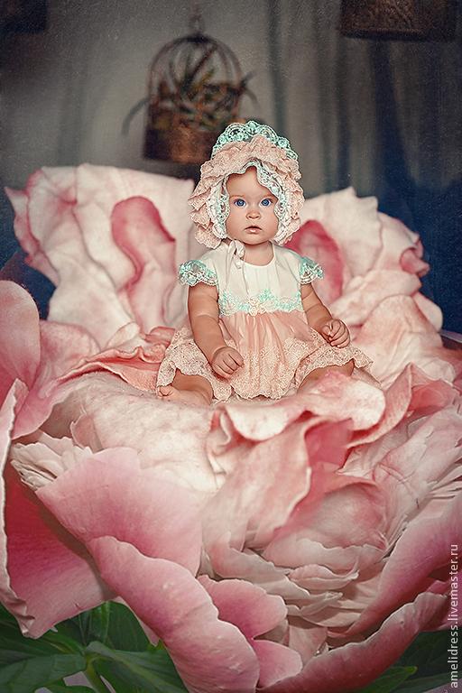 """Одежда для девочек, ручной работы. Ярмарка Мастеров - ручная работа. Купить """" Дюймовочка"""" принцессный костюмчик. Handmade. Цветочный, дети"""