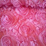 Материалы для творчества handmade. Livemaster - original item Fabric: Fabric with 3D effect