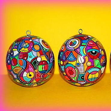 Сувениры и подарки ручной работы. Ярмарка Мастеров - ручная работа Музыкальный шар. Handmade.