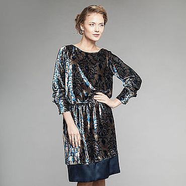 Одежда ручной работы. Ярмарка Мастеров - ручная работа Платье Эльвира 3180814. Handmade.