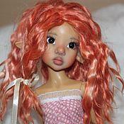 Куклы и игрушки ручной работы. Ярмарка Мастеров - ручная работа Парик для куклы. Handmade.