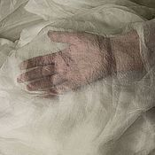 Материалы для творчества ручной работы. Ярмарка Мастеров - ручная работа Шелк маргиланский Газ, ширина 41-42 см. Handmade.