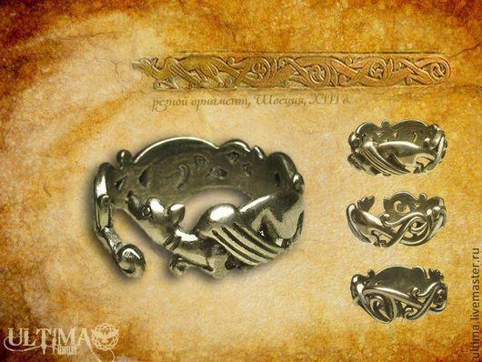 """Кольца ручной работы. Ярмарка Мастеров - ручная работа. Купить Кольцо """"Бегущий дракон"""". Handmade. Серебряный, дракон, дракончик, драконы"""