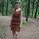 Платья ручной работы. Ярмарка Мастеров - ручная работа. Купить Ажурное летнее платье. Handmade. Платье летнее, ручное вязание