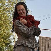 "Одежда handmade. Livemaster - original item Jacket ""Pecan"". Handmade."