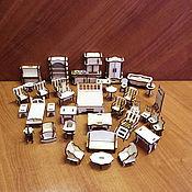Арт. 01 11 0018 Набор кукольной мебели 36 предметов