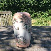 Винтаж ручной работы. Ярмарка Мастеров - ручная работа 80-е гг Япония фарфоровая вазочка. Handmade.