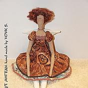 Куклы и игрушки ручной работы. Ярмарка Мастеров - ручная работа Шоколадный ангел. Handmade.