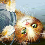 Дом кота - Ярмарка Мастеров - ручная работа, handmade