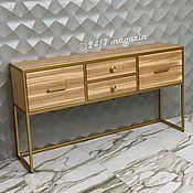 Для дома и интерьера handmade. Livemaster - original item Gold BILLION console.. Handmade.